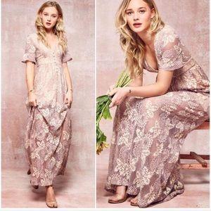 La Vie Est Belle | Ethereal Lace Lavender Dress